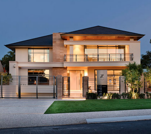 Zorzi builders homes of the rich Modern home construction