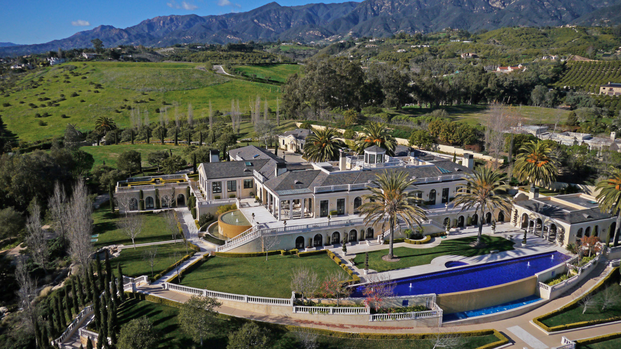 The Polo Estate Of Montecito 250 000 Month Homes Of