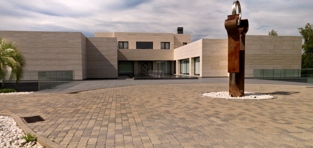 20,000 Square Foot Newly Built Contemporary Mansion In Madrid, Spain