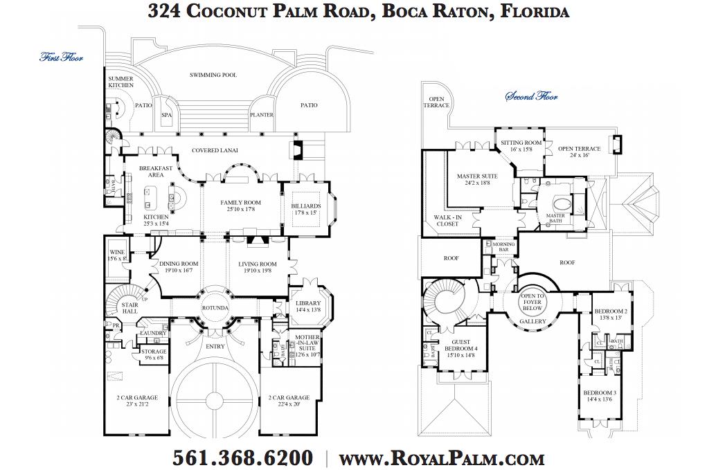$7.75 Million Waterfront Mediterranean Mansion In Boca Raton, FL