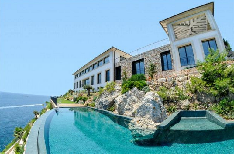 €18 Million Newly Built Clifftop Villa In Mallorca, Spain
