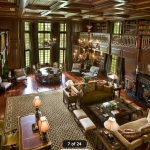 2-story Great Room/Library