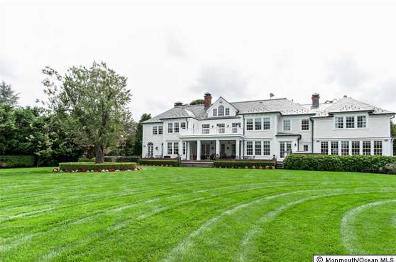 $10.9 Million Newly Listed Georgian Colonial Mansion In Spring Lake, NJ