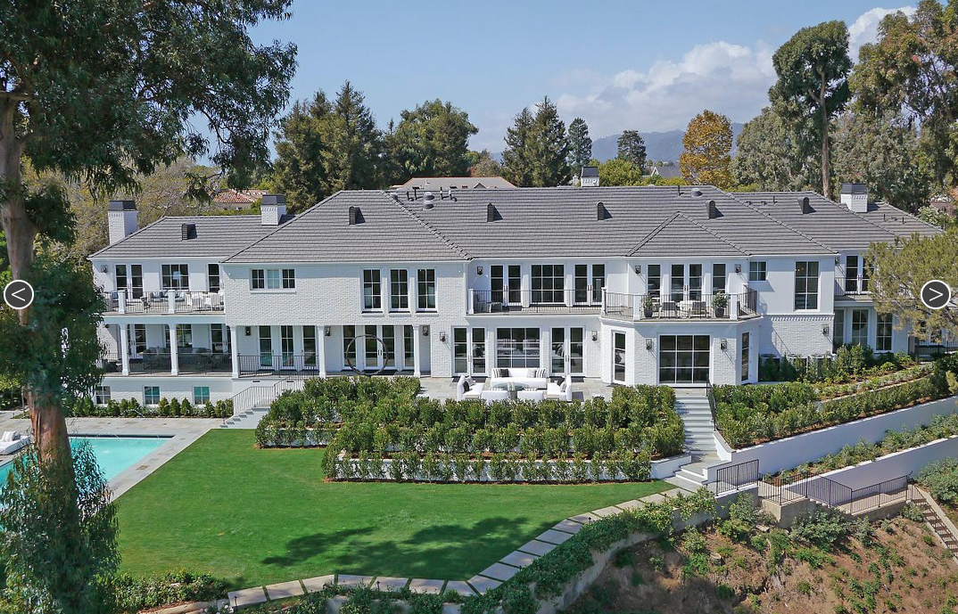 $19.95 Million Restored & Expanded Mansion In Pacific Palisades, CA