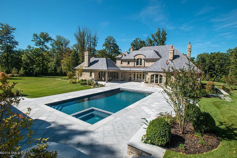 $7.195 Million Newly Built European Stone Home In Greenwich, CT