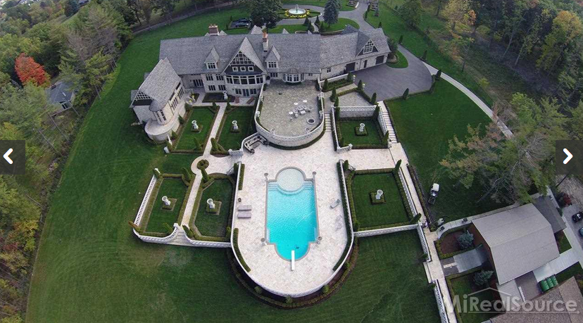 $7.95 Million 12 Acre Estate In Rochester Hills, MI
