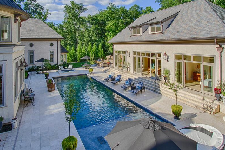 25,000 Square Foot Mega Mansion In Ooltewah, TN Re-Listed