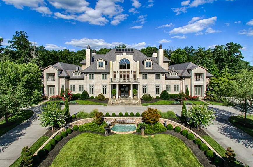 25 000 Square Foot Mega Mansion In Ooltewah Tn Re Listed