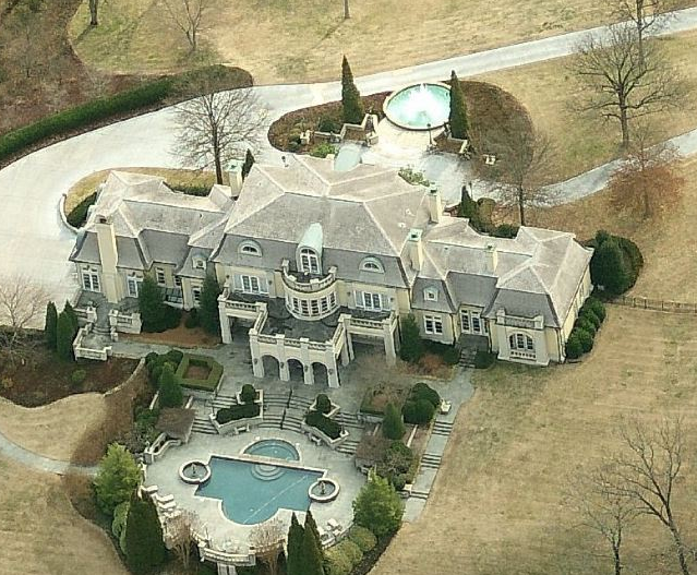 $12.9 Million 18,000 Square Foot French Inspired Mansion In Nashville, TN