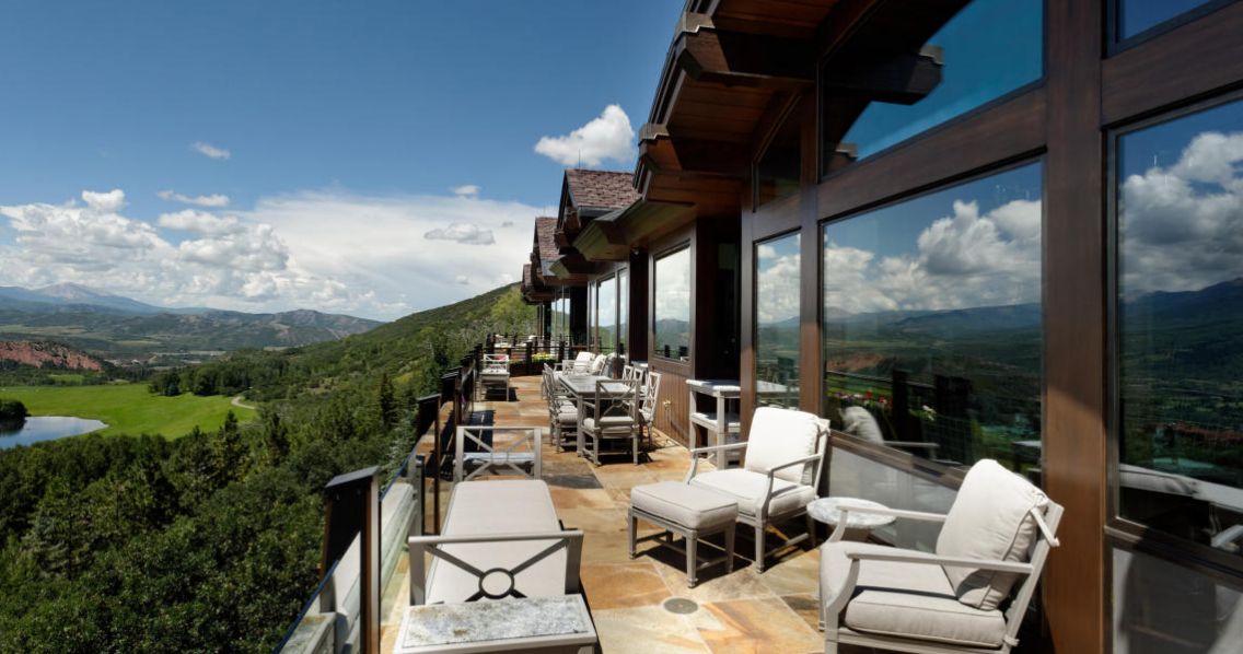 The summit house a 65 million estate in aspen co for Aspen house