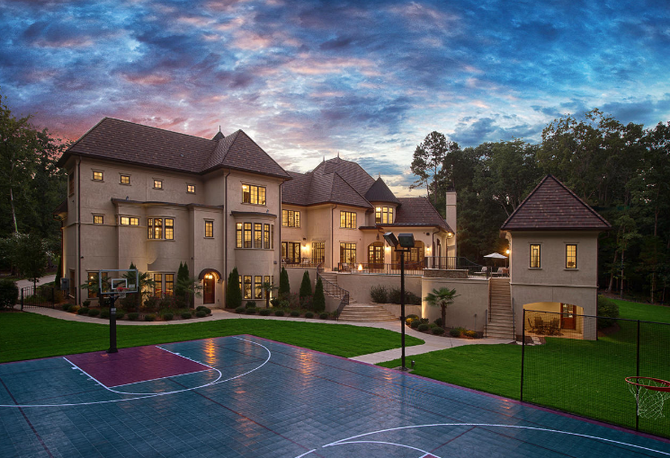 3 5 million 10 000 square foot french inspired mansion in charlotte nc homes of the rich