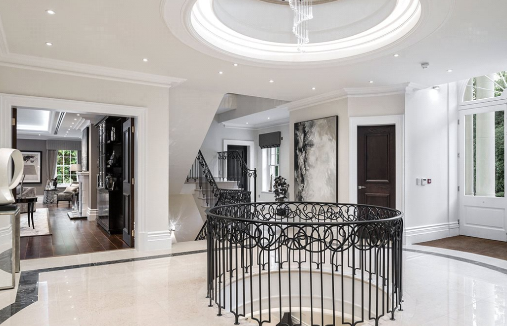 Mansion Foyer Uk : Woodrow a £ million newly built square foot