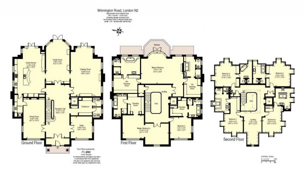 32 Million Newly Built 20 000 Square Foot Brick Mansion