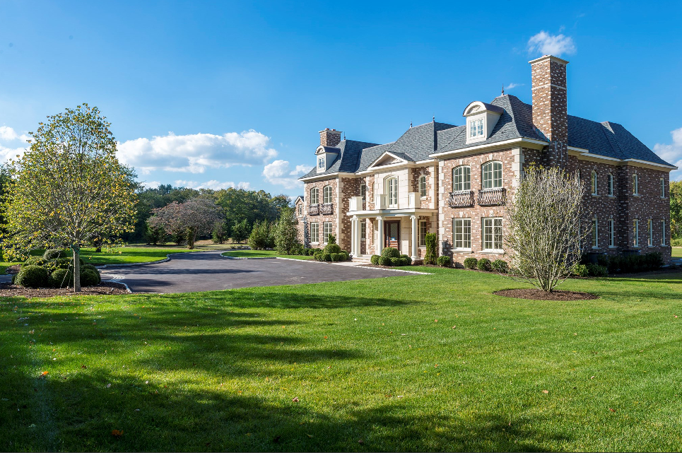 $5.995 Million Newly Built Brick Mansion In Brookville, NY