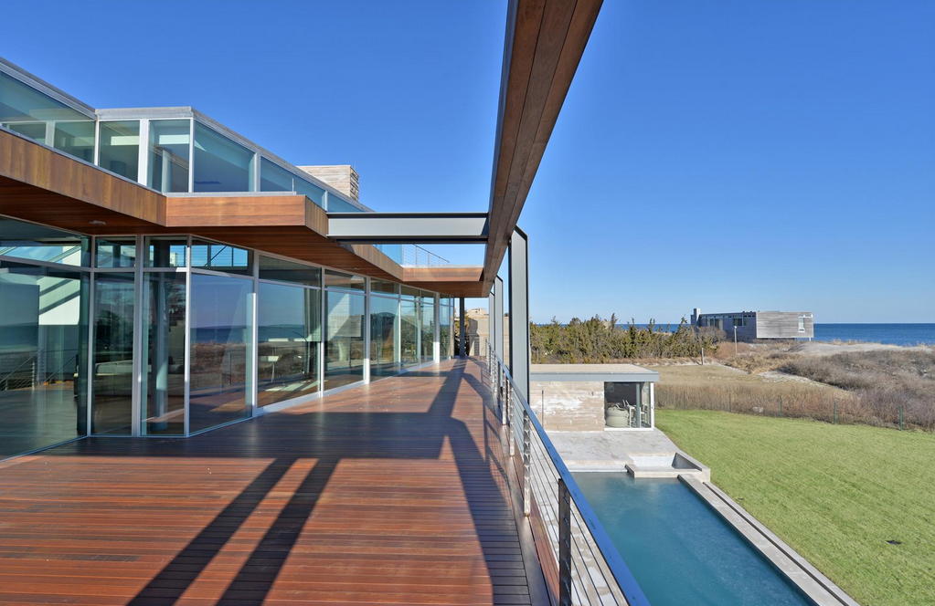 $29.95 Million Oceanfront Contemporary Mansion In Bridgehampton, NY