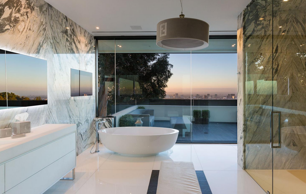 $55 Million Newly Built 14,000 Square Foot Modern Mansion In ...