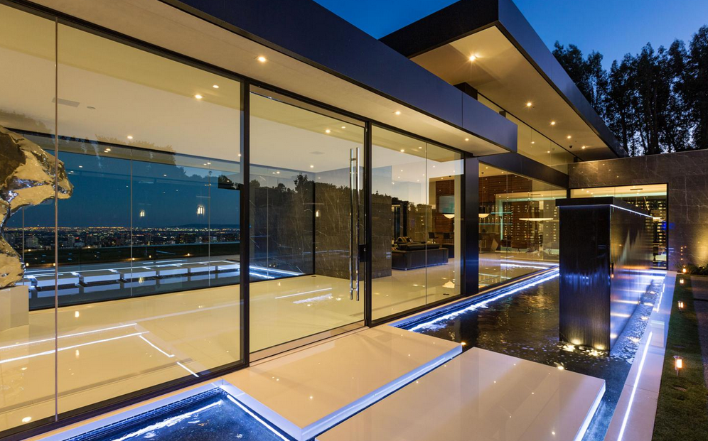 55 Million Newly Built 14 000 Square Foot Modern Mansion