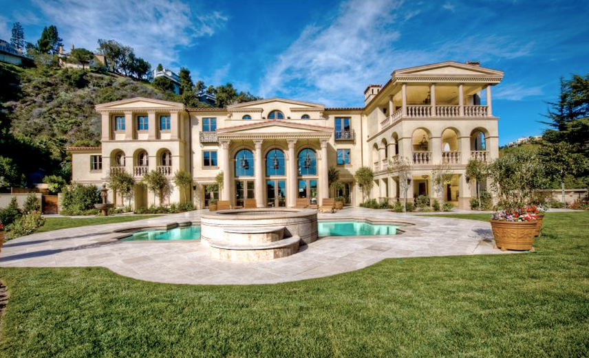 19 Million 19 500 Square Foot Tuscan Mansion In Los