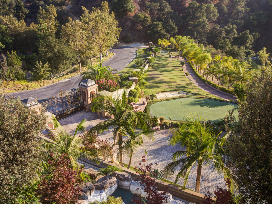 30,000 Square Foot Opulent Mega Mansion In Bradbury, CA Re-Listed