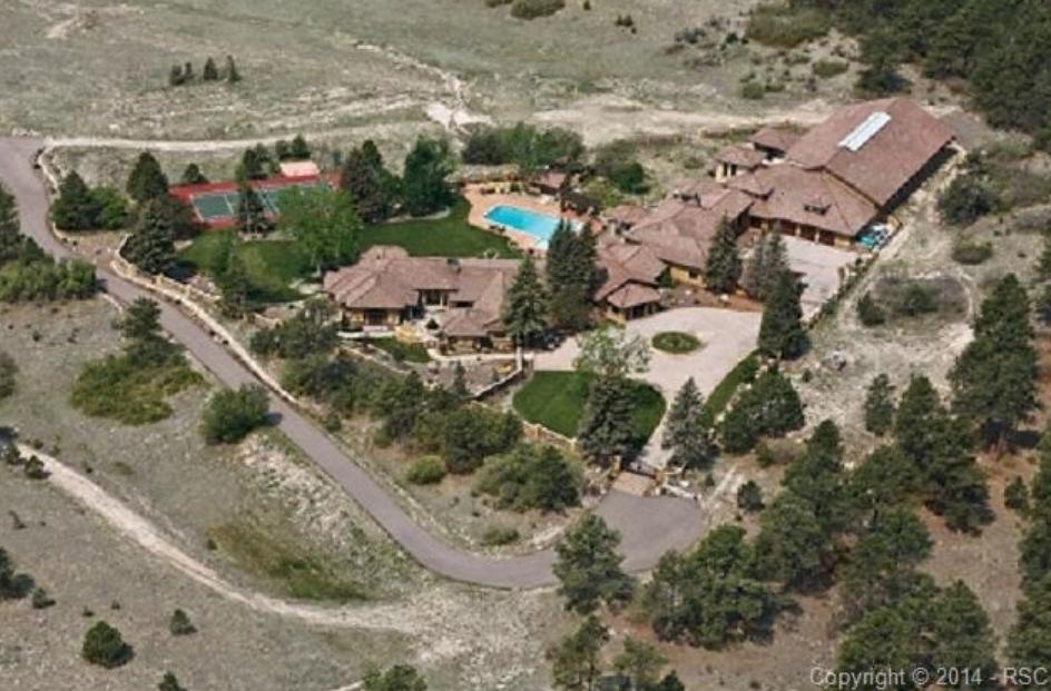 $7.2 Million Estate In Colorado Springs, CO With Indoor Ice Hockey Rink