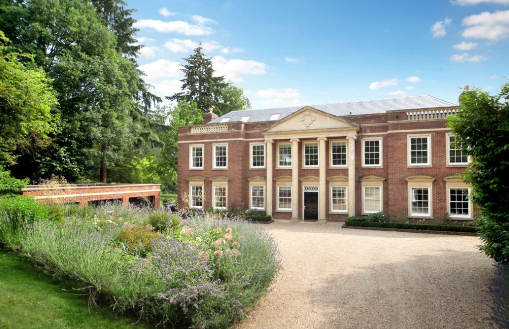 Chelsea House An 163 11 Million Brick Mansion In Surrey