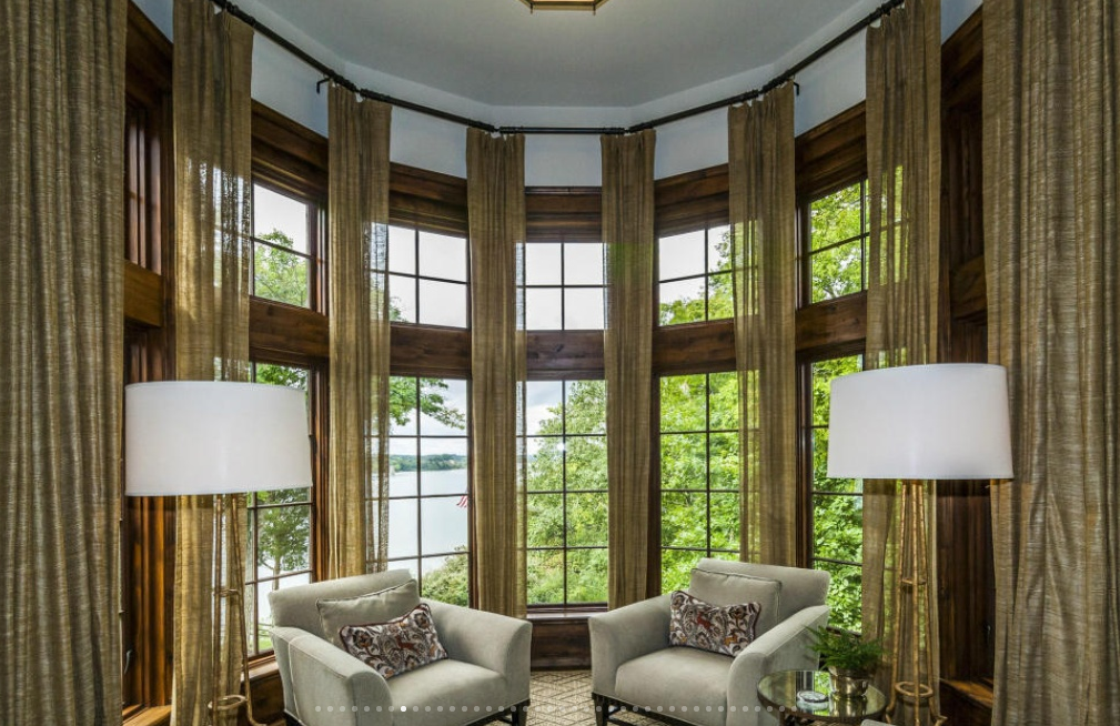 5 6 Million 10 000 Square Foot Lakefront Mansion In