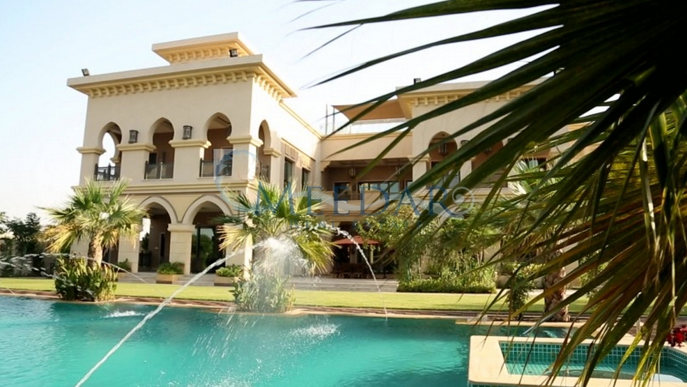 $27 Million 41,000 Square Foot Mega Mansion In Dubai, UAE