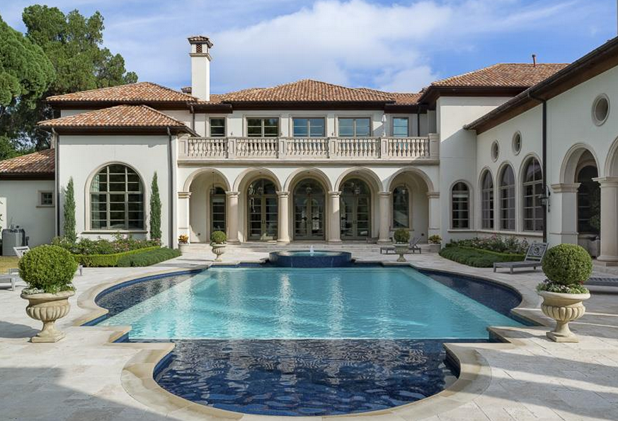 8 million 11 000 square foot newly listed mediterranean for Mansions in dallas tx