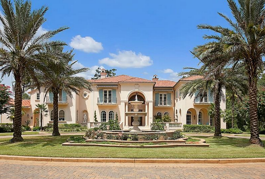 18 acre mediterranean riverfront estate in covington for House plans covington la