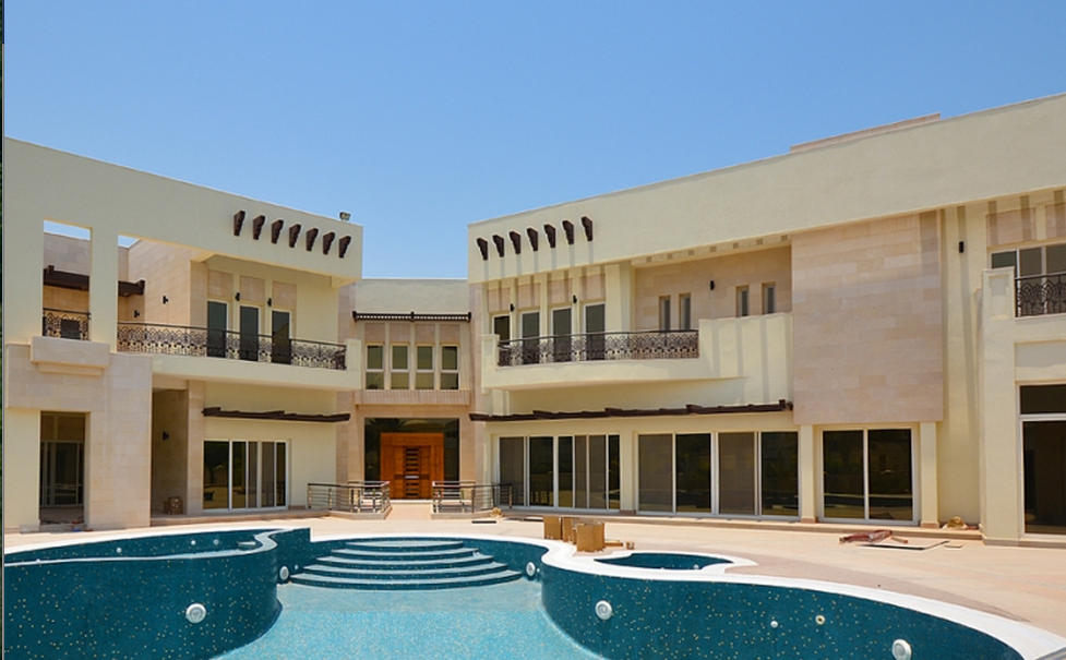 23,000 Square Foot Mega Mansion In Dubai, UAE