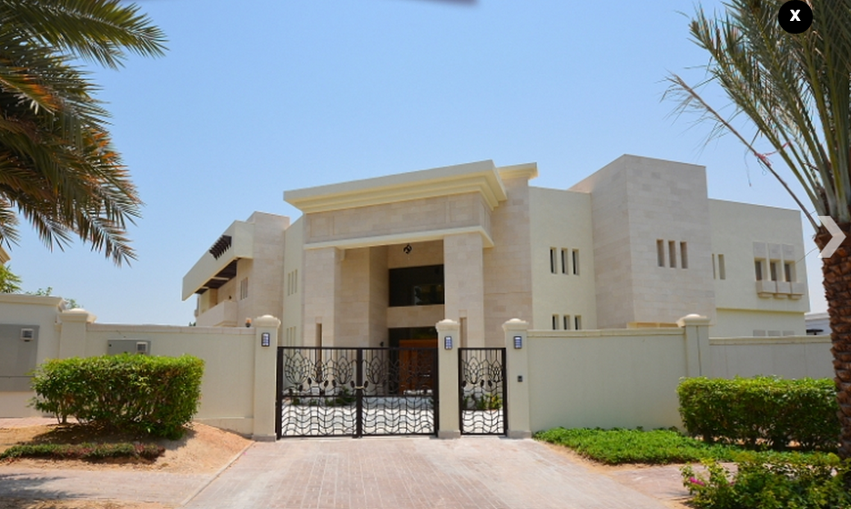 23 000 square foot mega mansion in dubai uae homes of for Modern house uae