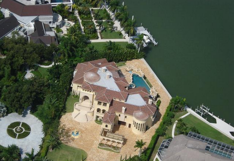 Marco Island Mediterranean Mansion With 20-Car Garage Re-Listed