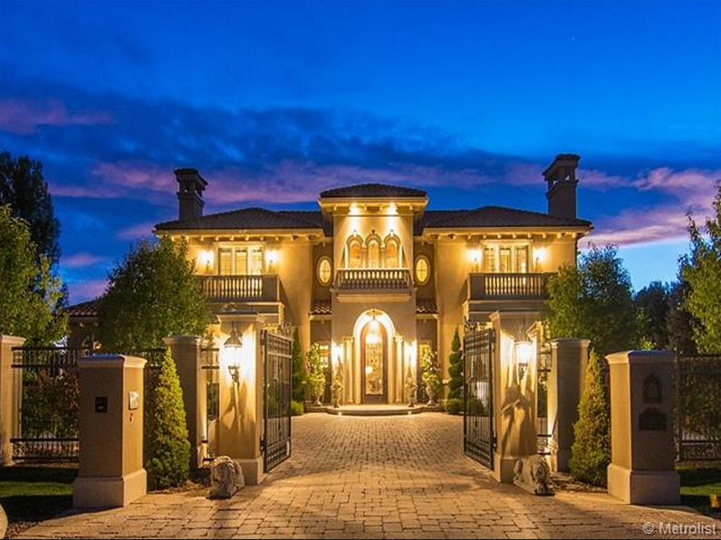 4 5 Million 11 000 Square Foot Italian Inspired Mansion
