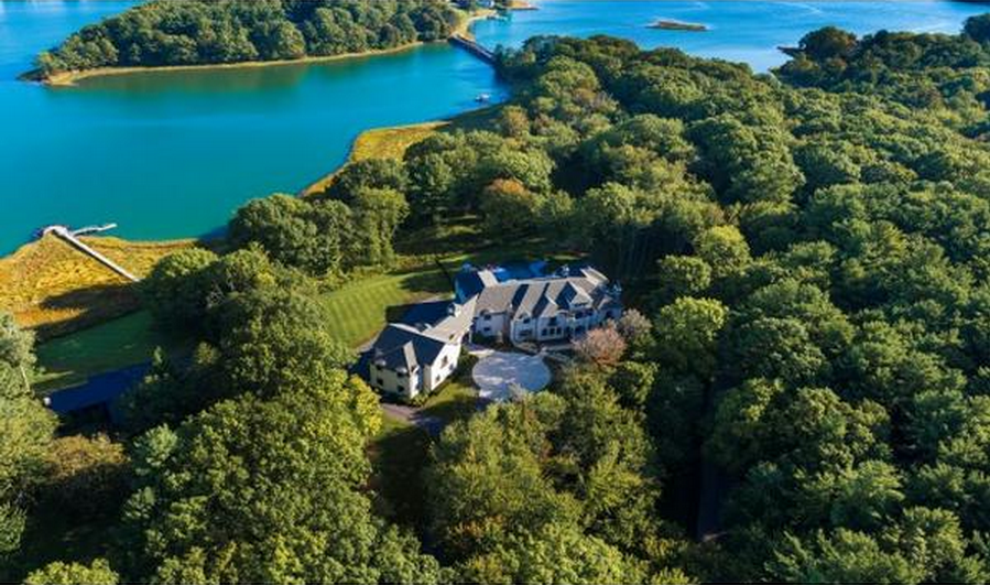 $12.9 Million Newly Built 15,000 Square Foot Waterfront Mansion In Portsmouth, NH