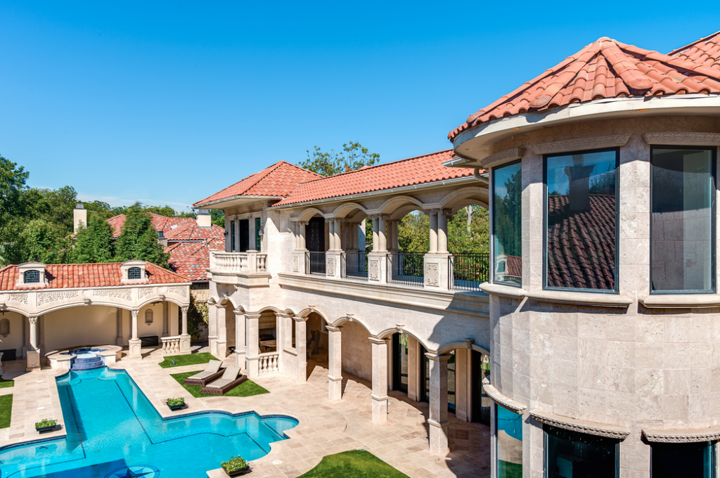 5 95 Million 10 000 Square Foot Mediterranean Mansion In Dallas Tx Homes Of The Rich