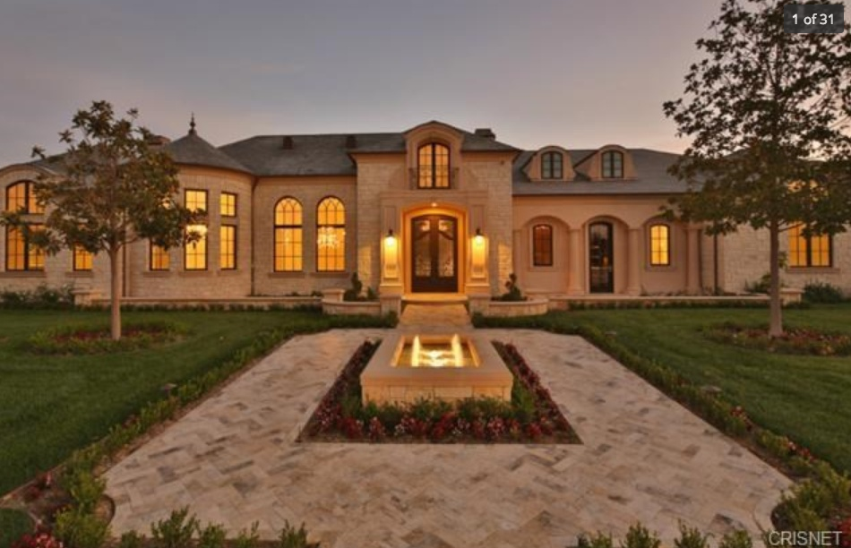 14295 Million Newly Built French Inspired Mansion In