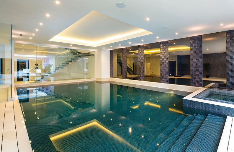 Fairways a 22 million 17 000 square foot mansion in - Houses in england with swimming pools ...