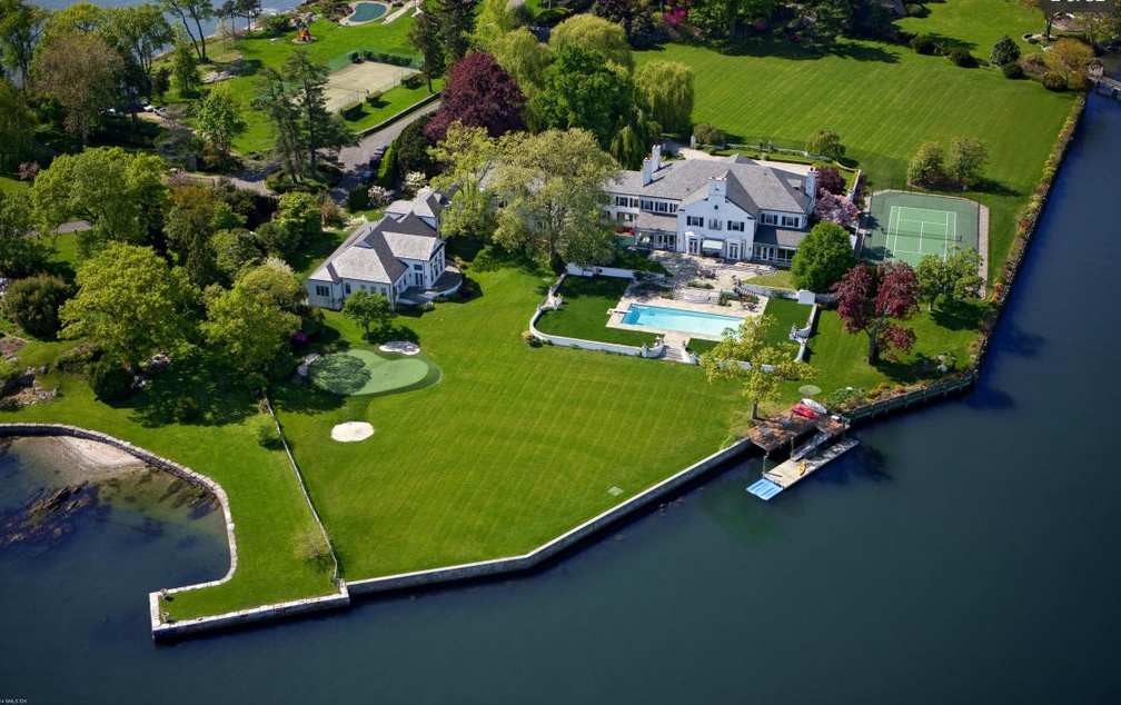 $54 Million Newly Listed Waterfront Estate In Greenwich, CT