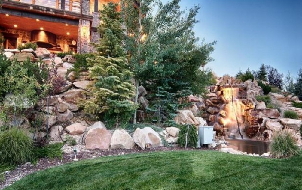 $9 Million 14,000 Square Foot Mountaintop Mansion In Park City, UT