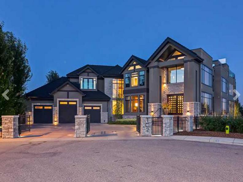 $11.5 Million Contemporary Home In Alberta, Canada
