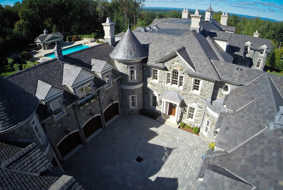 New Hi Res Exterior Pics Of The Stone Mansion In Alpine NJ Homes Of