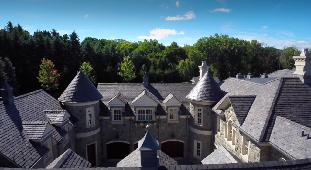 Exterior Pics Of The Stone Mansion In Alpine NJ Homes Of The Rich