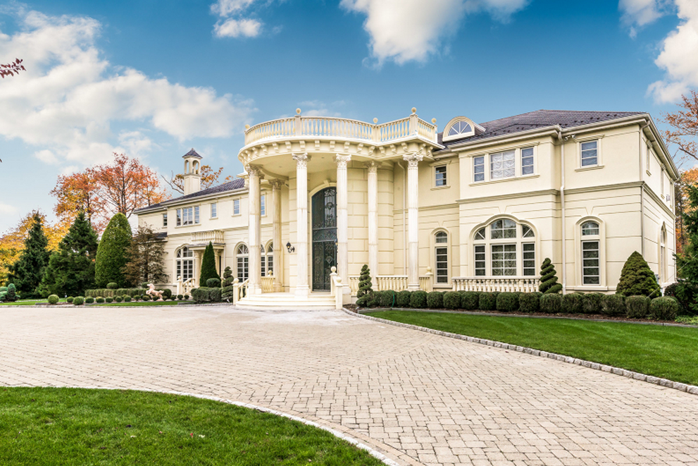 9 9 Million Colonial Mansion In Alpine Nj Homes Of The