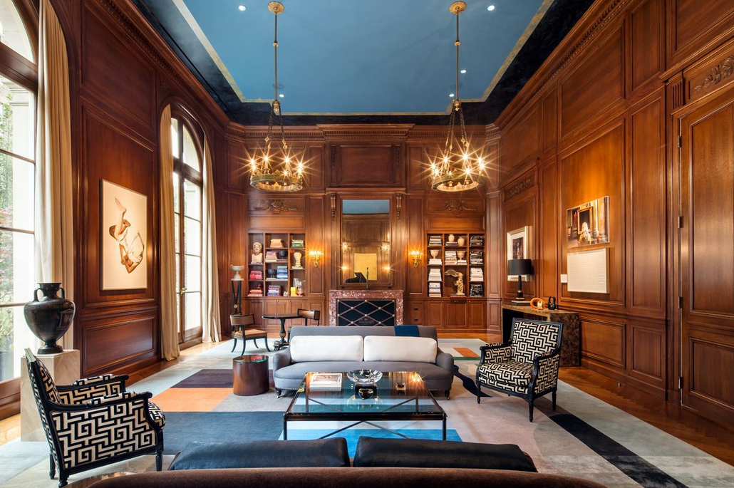 34 9 million duplex at the carhart mansion in new york for 95th street salon