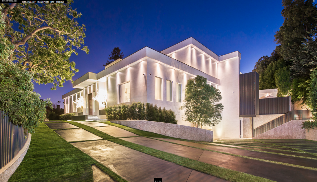 35 Million Newly Built Contemporary Estate In Beverly