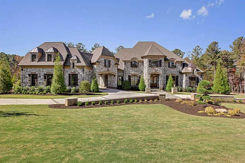 3 9 Million Newly Built 16 500 Square Foot Stone Mansion