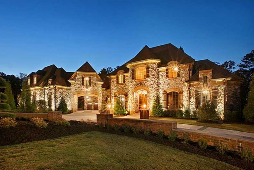 39 Million Newly Built 16500 Square Foot Stone Mansion In Alpharetta GA