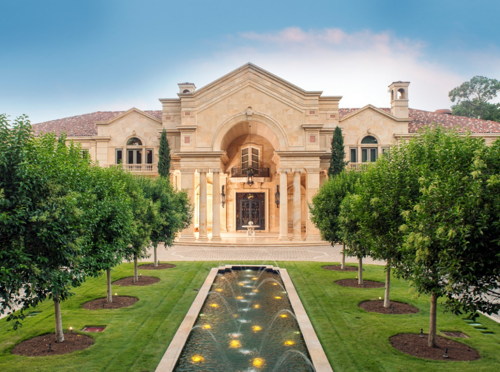 43 million 27 000 square foot mega mansion in houston tx for Cost of building a house in houston