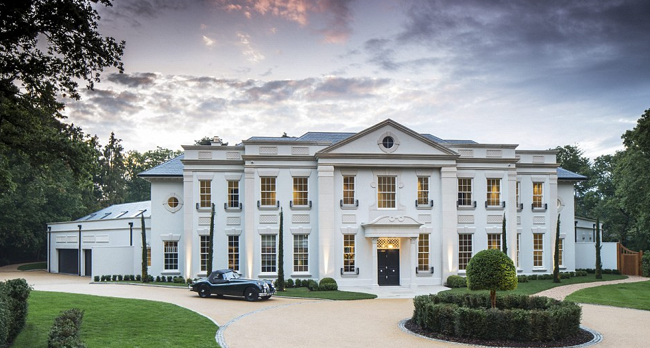 Consero london homes of the rich for Luxury homes in london