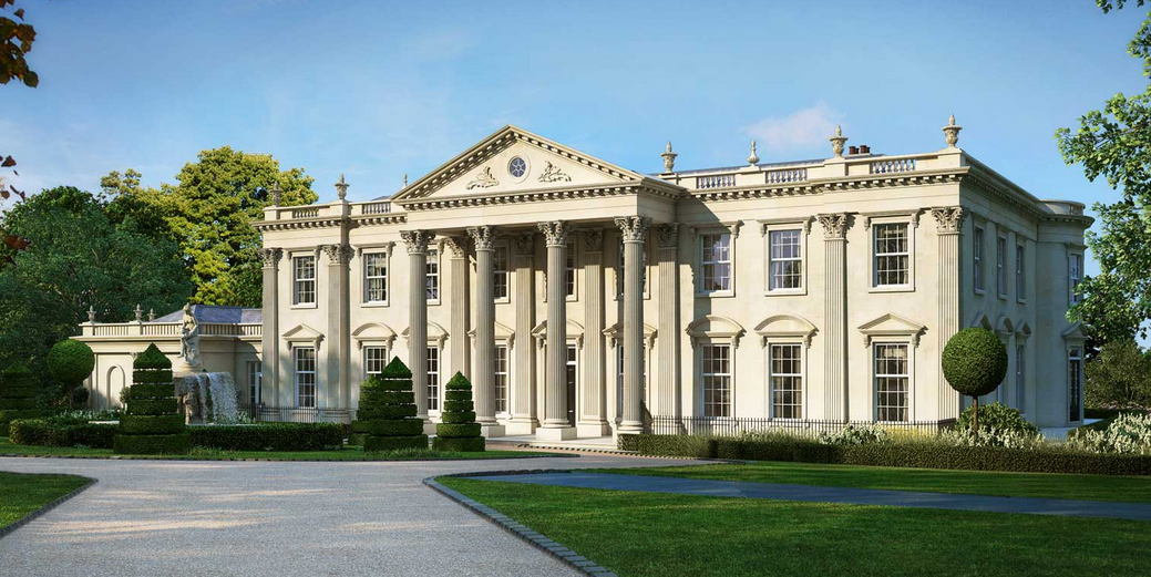 Consero london homes of the rich for Modern luxury homes for sale uk
